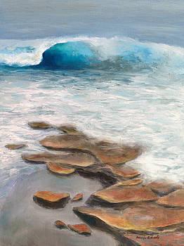 Low tide by Jennifer Richards