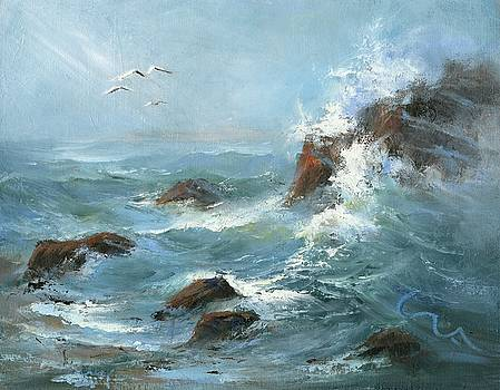 Low Tide by Sharon Abbott-Furze
