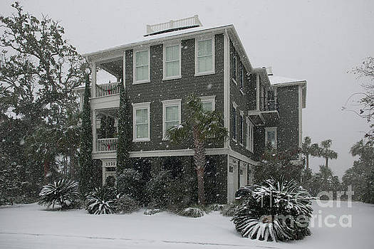Dale Powell - Lowcountry Home in the Snow