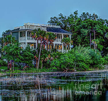 Lowcountry Home Majesty by Dale Powell