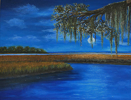 Lowcountry Moon by Stanton Allaben