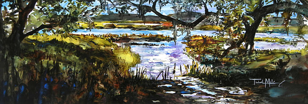 Lowcountry Summer Marsh IV by Trish McKinney