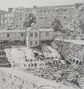 Lowell Lower Lock House by Kathleen Walker