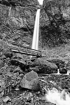 Jamie Pham - Lower angle of Elowah Falls in the Columbia River Gorge