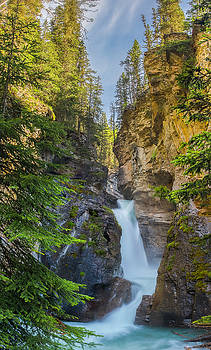 Lower Falls at Johnston Canyon by Owen Weber