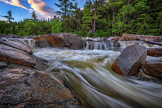 Lower Falls of the Swift River by Rick Berk