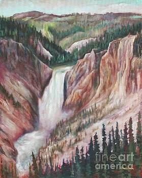 Lower Falls Reverie by Eve  Wheeler
