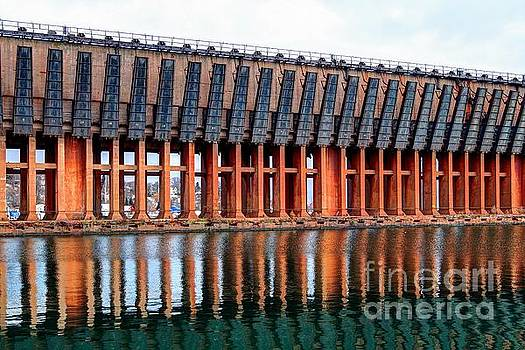 Lower Harbor Ore Dock, Marquette, Michigan by John December