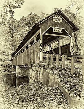Steve Harrington - Lower Humbert Covered Bridge 2 - Sepia