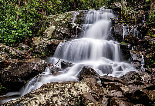 Lower Laurel Falls by Cathie Crow