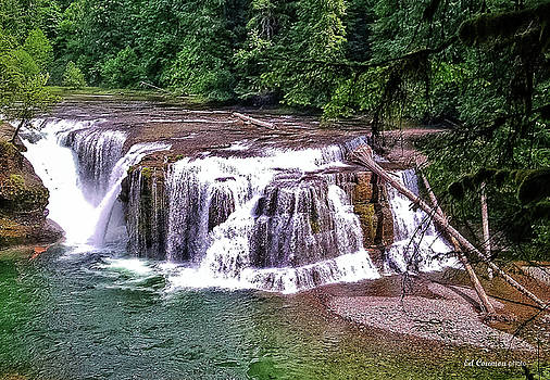 Lower Lewis Falls by Edward Coumou