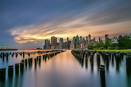 Lower Manhattan by John Randazzo