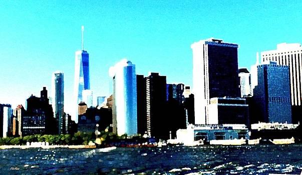 Lower Manhattan by Peggy De Haan
