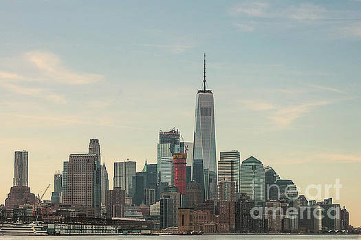 Lower Manhattan  by Thomas Marchessault