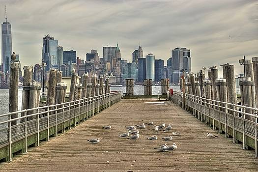 Lower Manhattan by Timothy Lowry