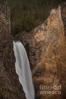 Lower Yellowstone Waterall by DS Dodd