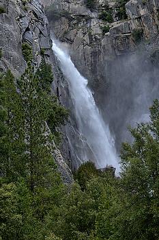 Lower Yosemite Falls by Michael Gordon