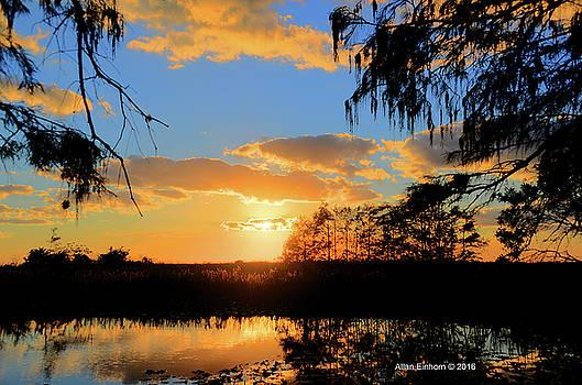 Loxahatchee Florida Sunset by Allan Einhorn