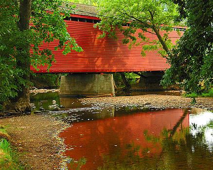 Loys Station Bridge. Thurmont Maryland by Matthew Saindon