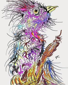 LSD Bird 2 by Darren Cannell