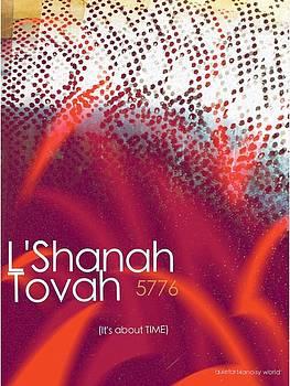 L'Shanah Tovah 1 by Cooky Goldblatt