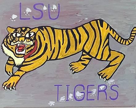 LSU Tigers by Jonathon Hansen