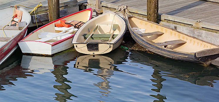 Lubec Dories by Peter J Sucy