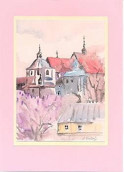Lublin - a monastery of Dominican by Agnieszka Korfanty