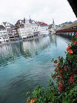 Lucerne Bridge by Pema Hou