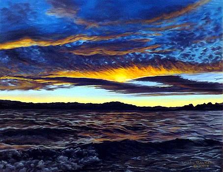 Lucerne Sunset by Linda Becker