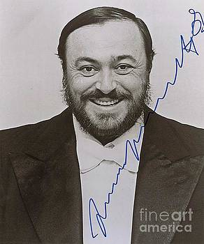 Luciano Pavarotti the Great Tenor from Italy by Pd
