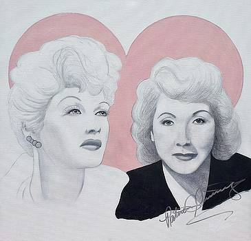 Lucille and Vivian by Patricia Brewer-Cummings