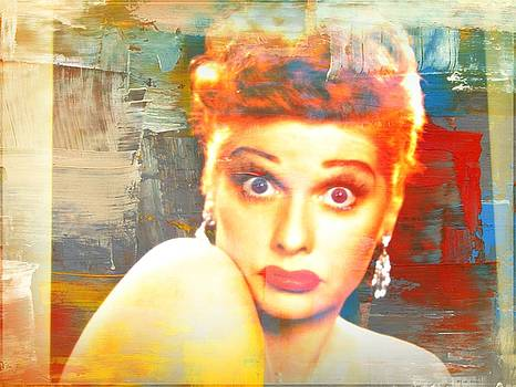 Lucille Ball by Kevin Moore