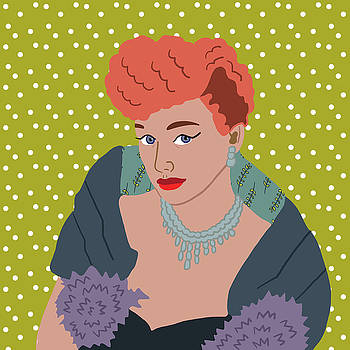Lucille Ball by Nicole Wilson