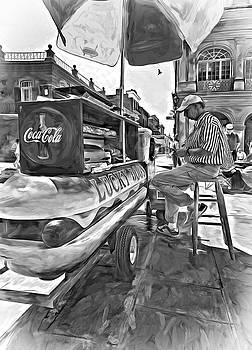 Steve Harrington - Lucky Dogs and Coke - Paint bw