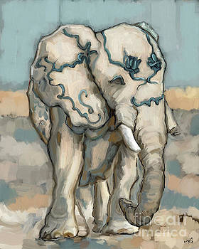 Lucky Elephant by Carrie Joy Byrnes