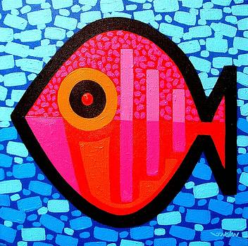 Lucky Fish III by John  Nolan