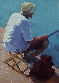 Lucky Hat by Bruce Bingham