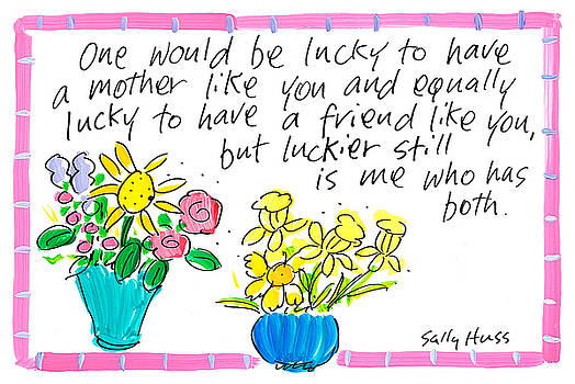 Lucky Mom by Sally Huss