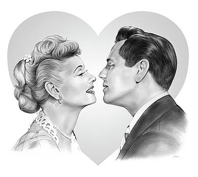 Lucy and Desi by Greg Joens
