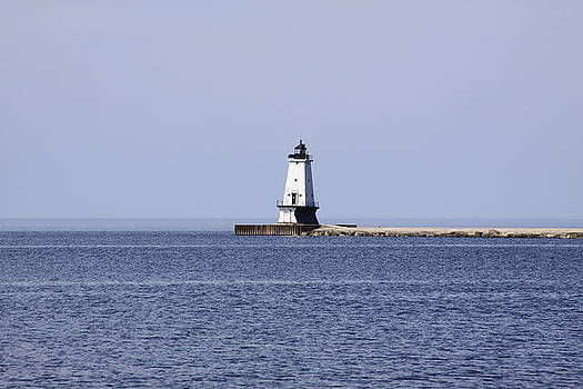 Ludington's Lighthouse by Chuck Bailey