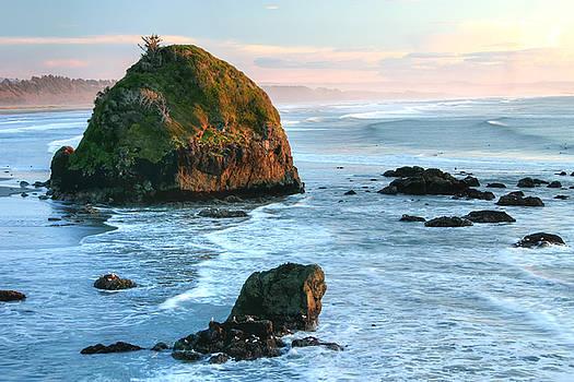 Luffenholtz Beach, CA by Tom Kidd