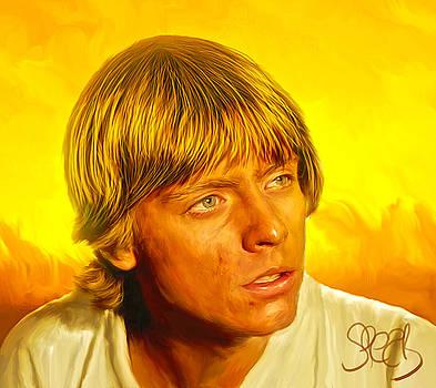 Luke Skywalker by Mark Spears