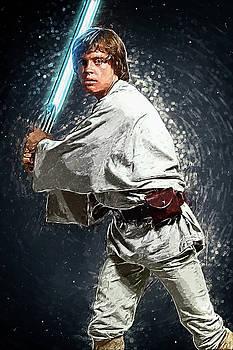 Luke Skywalker by Taylan Apukovska