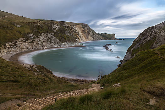Man ' O ' War beach by Adrian Pollard