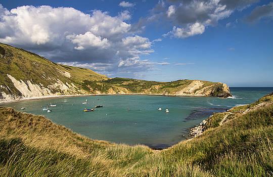 Lulworth Cove Dorset by Pete Hemington