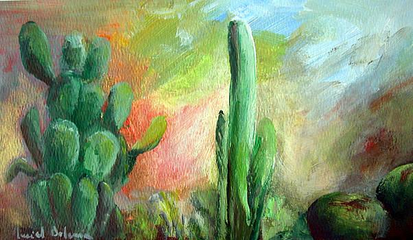 Lumiere de desert by Muriel Dolemieux