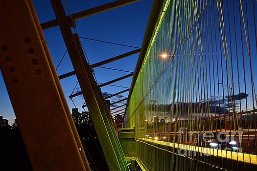Luminous Green Bridge by Alana Boltwood
