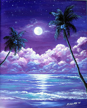 Luminous Night in the Tropics by Amy Scholten