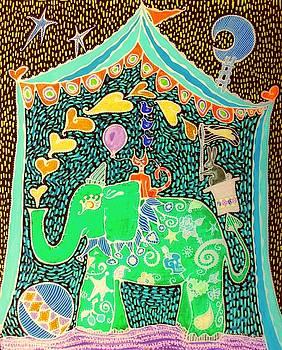 Luna Circus 3 by Sandra Perez-Ramos